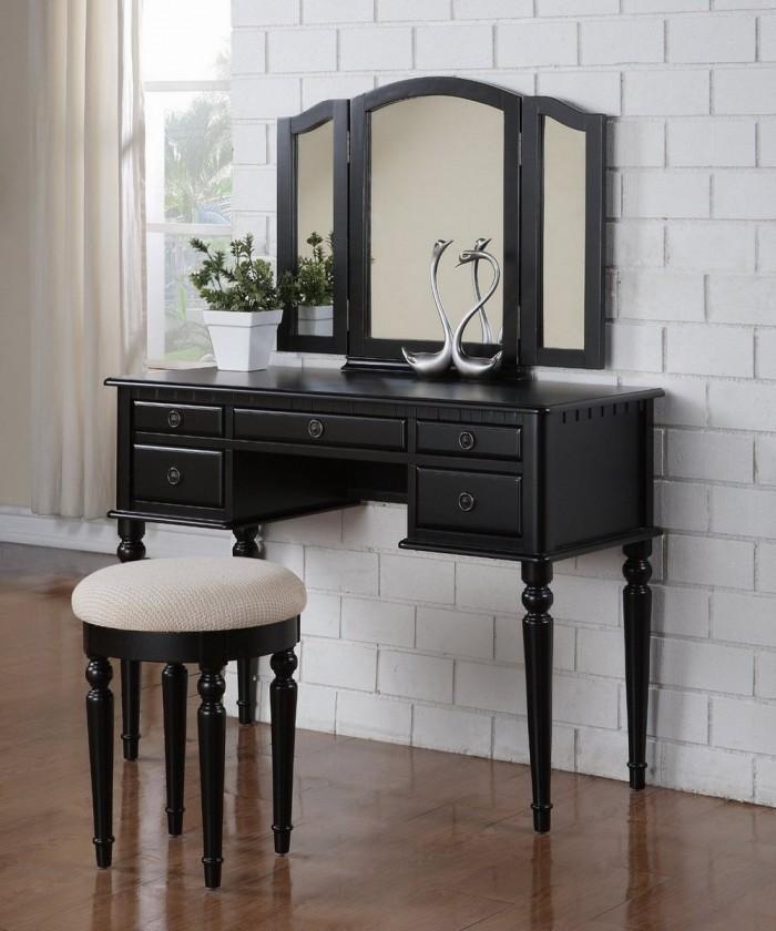 10 Bedroom Vanities In Modern Black Shade