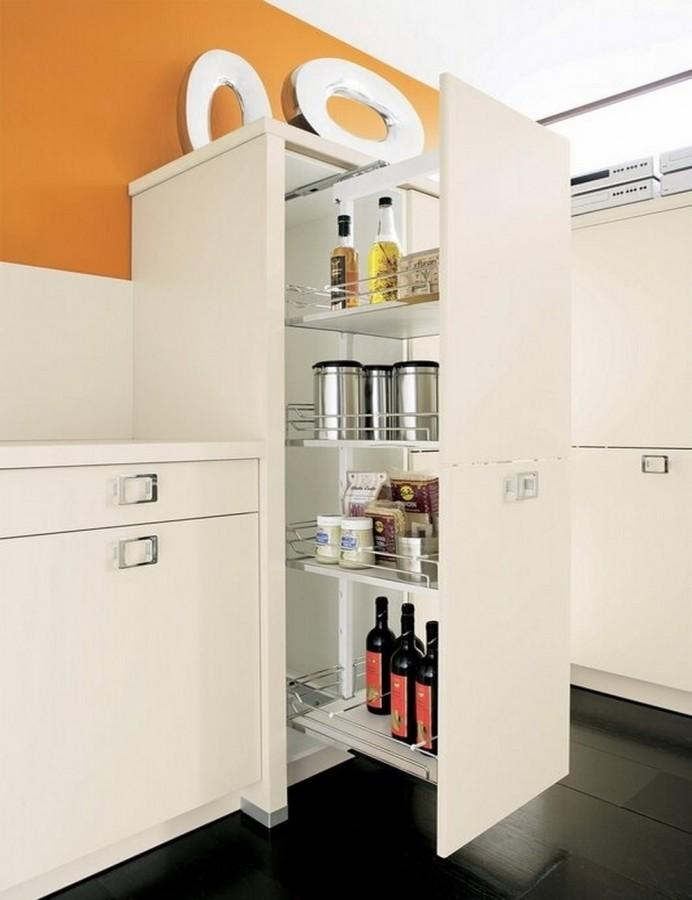 10 super modern kitchen pantry cabinets rilane - Bathroom pantry cabinets ...
