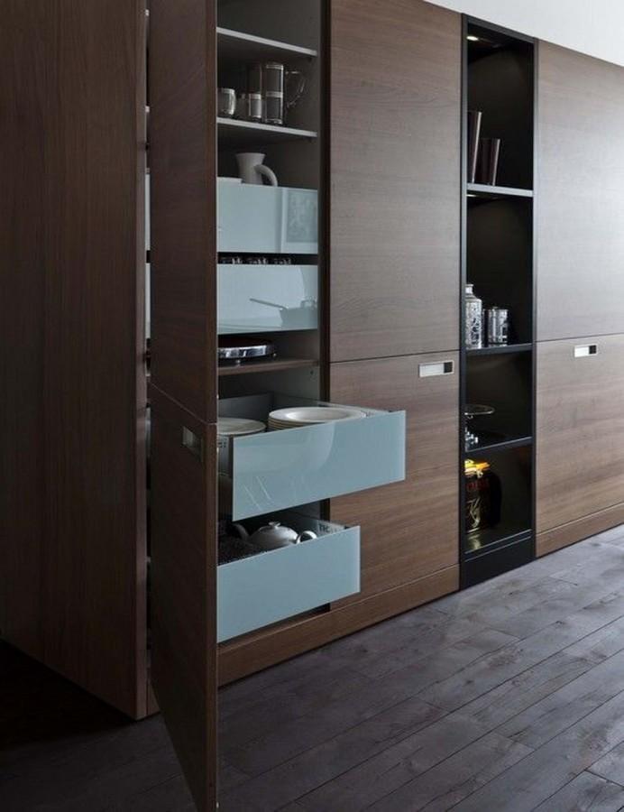 10 Super Modern Kitchen Pantry Cabinets Rilane