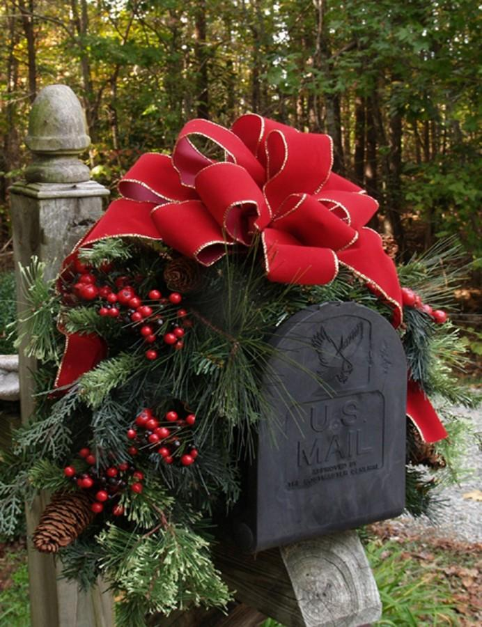 Christmas Decoration For Mailboxes : Outdoor christmas decorations to inspire rilane