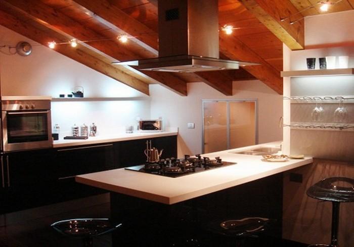 17 captivating attic kitchen designs rilane