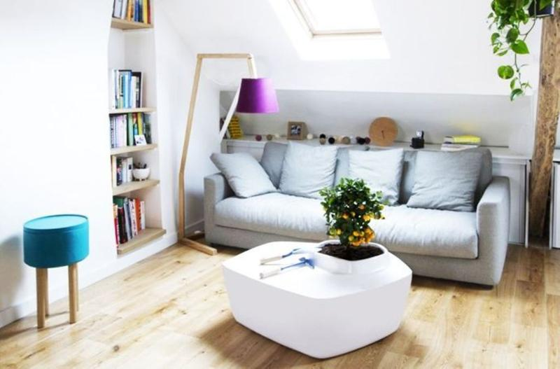 Attic Is A Common Place For Creating Small Living Room Which Pretty Smart And Creative Usage Of This Space As You Can See From The Superb