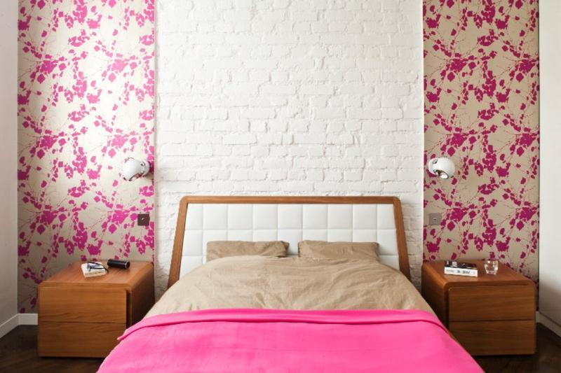 White Brick Walls In 25 Contemporary Bedrooms Rilane