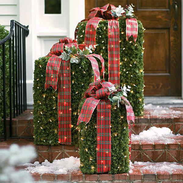outdoor christmas presents - Christmas Mailbox Decorations Ideas