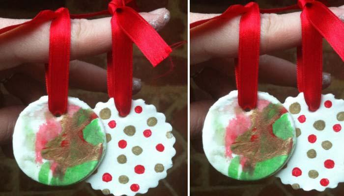 Christmas ornaments 70 holiday decorations decor rilane diy clay ornaments fun with clay is an inevitable part during the christmas preparations check out the link and the easy tutorial and learn how to make solutioingenieria Choice Image