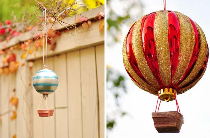 Christmas ornaments 70 holiday decorations decor rilane how to make hot air balloon ornament so creative and cool if you want to learn how to make a hot air balloon ornament check out this tutorial and learn solutioingenieria Choice Image