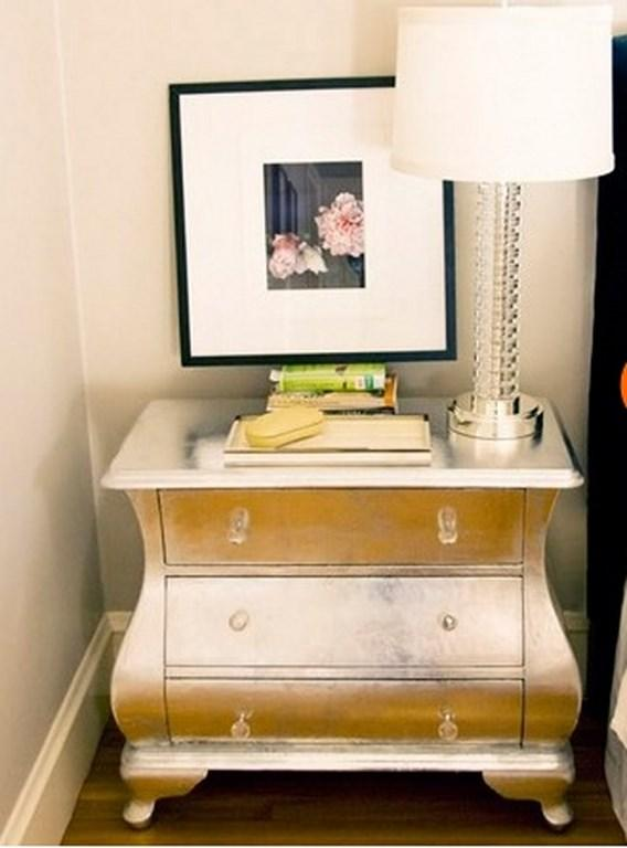 Golden Nightstand in 10 Bold Design Ideas