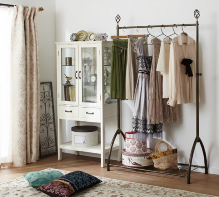 Superb Bedroom Clothes Rack Designs Rilane - Creative clothes racks