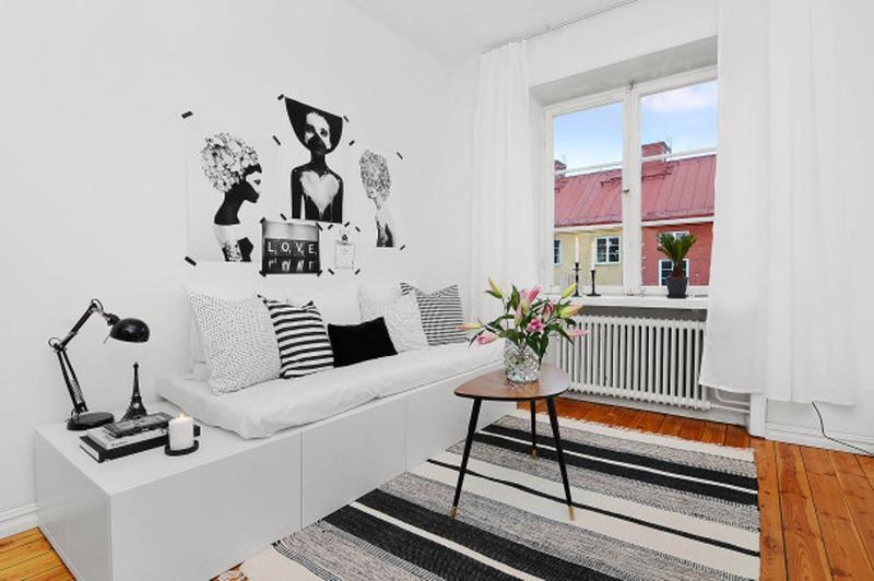 23 Small Living Room Ideas To Inspire You - Rilane