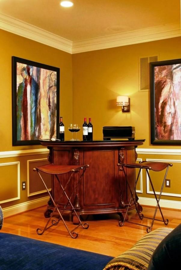 Creative Home Bar home bar pictures design ideas for your home bar plans Creative Home Mini Bar Idea With Brown Chairs