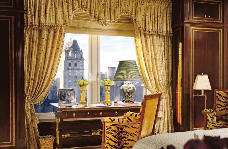 Elegant Bedroom With Leopard Print Chair