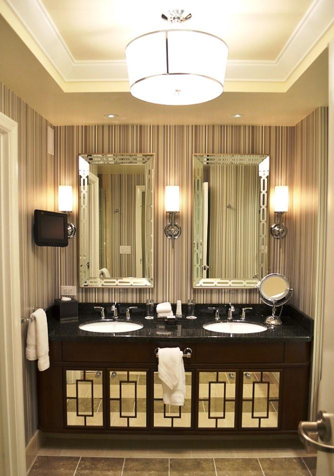 Mirrored Bathroom Vanity In 10 Enchanting Design Ideas