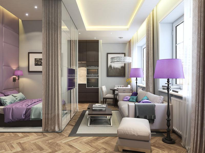 Feminine Small Living Room Idea