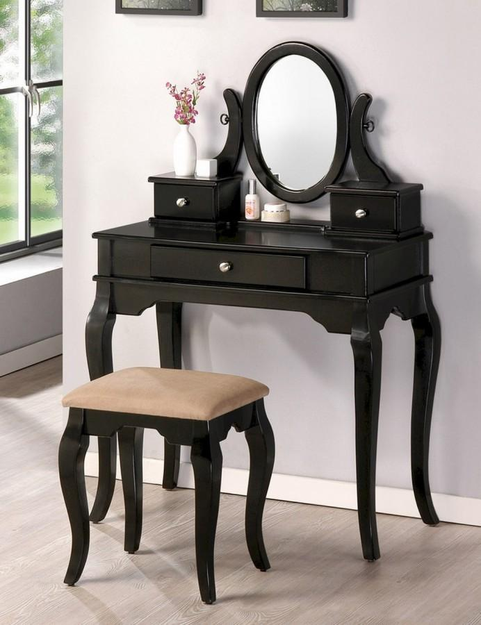10 Bedroom Vanities In Modern Black Shade Rilane