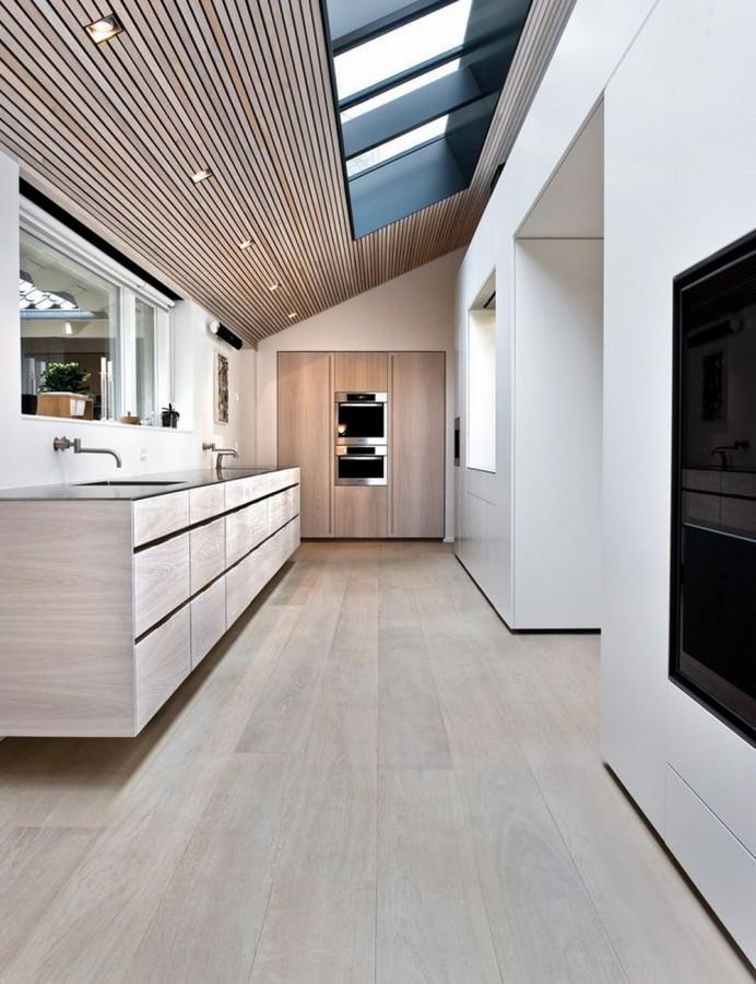 17 captivating attic kitchen designs rilane - Super ktchen desgn dzayn ...