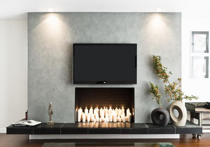 Fake Fireplace in 10 Superb Designs for Warmth in Your Home