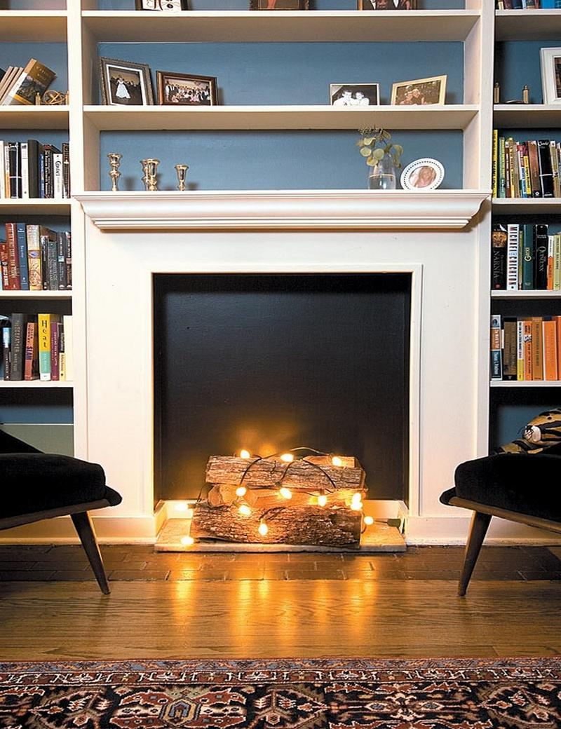 Faux Fireplace Insert Fake Fireplace In 10 Superb Designs For Warmth In Your Home Rilane