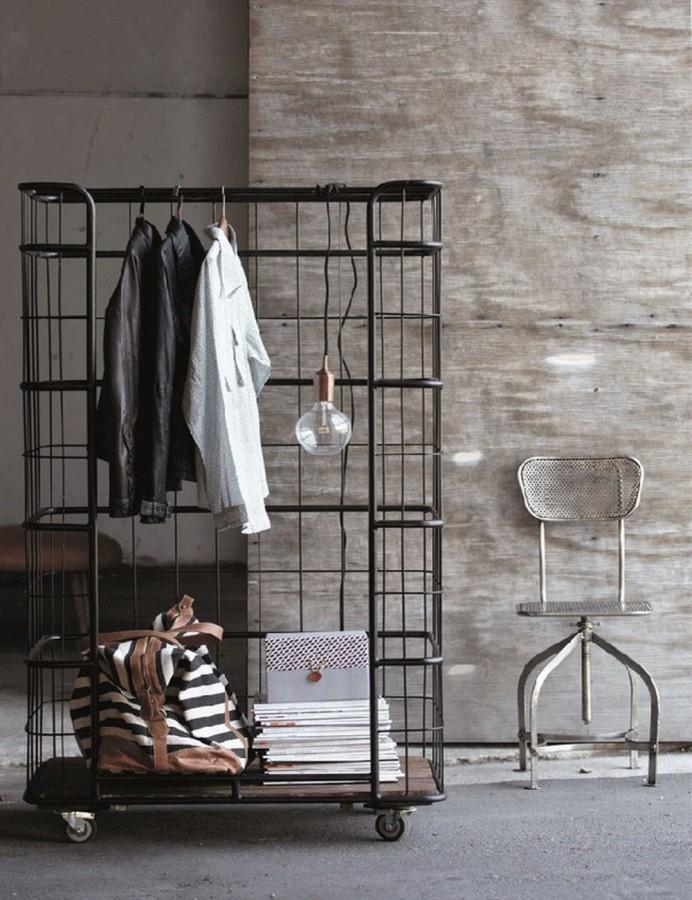 Portable Bedroom Clothes Rack