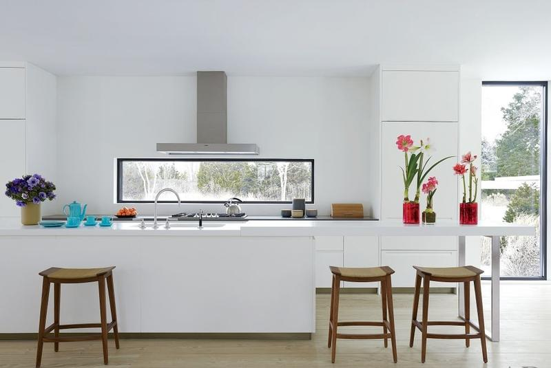 Sleek U Shaped Kitchen
