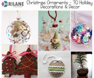 Christmas Ornaments – 70 Holiday Decorations & Decor