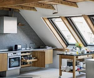 17 Captivating Attic Kitchen Designs