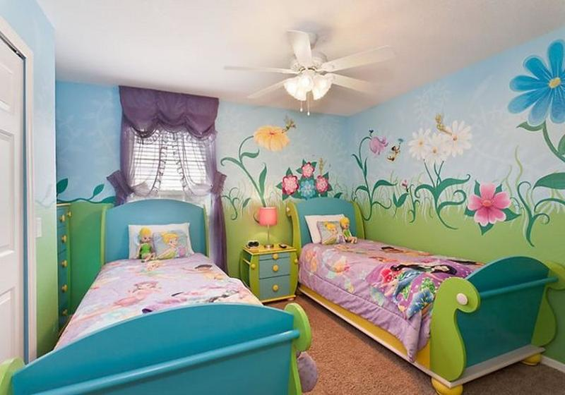 Interior Tinkerbell Bedroom Ideas tinkerbell bedroom in 15 dreamy designs rilane lovely twin bedroom