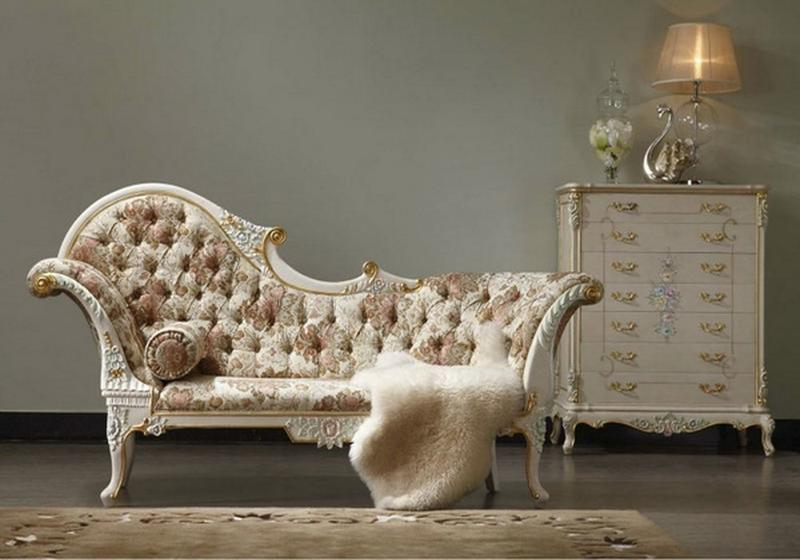 Luxury Bedroom Chaise Lounge
