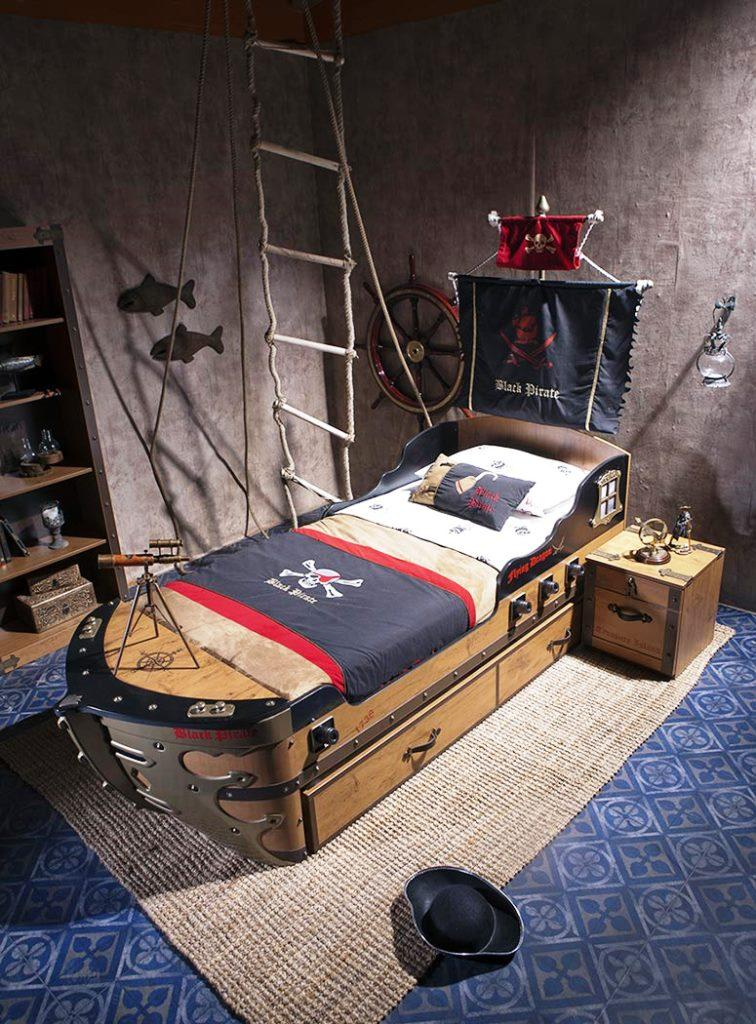 Pirate Ship Beds in 12 Realistic Designs