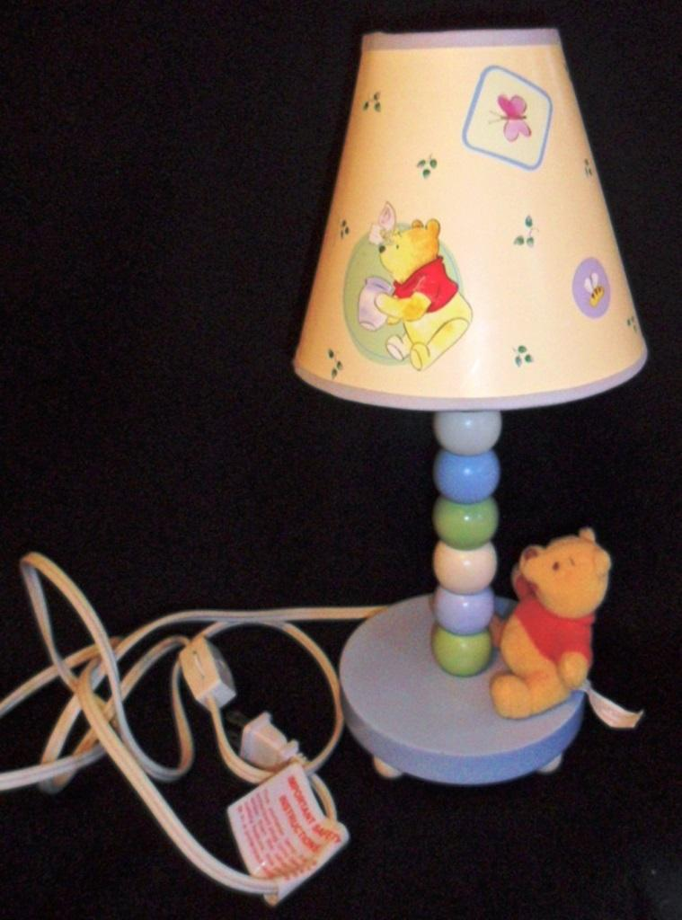 Winnie the Pooh Lamps in 10 Fun Designs