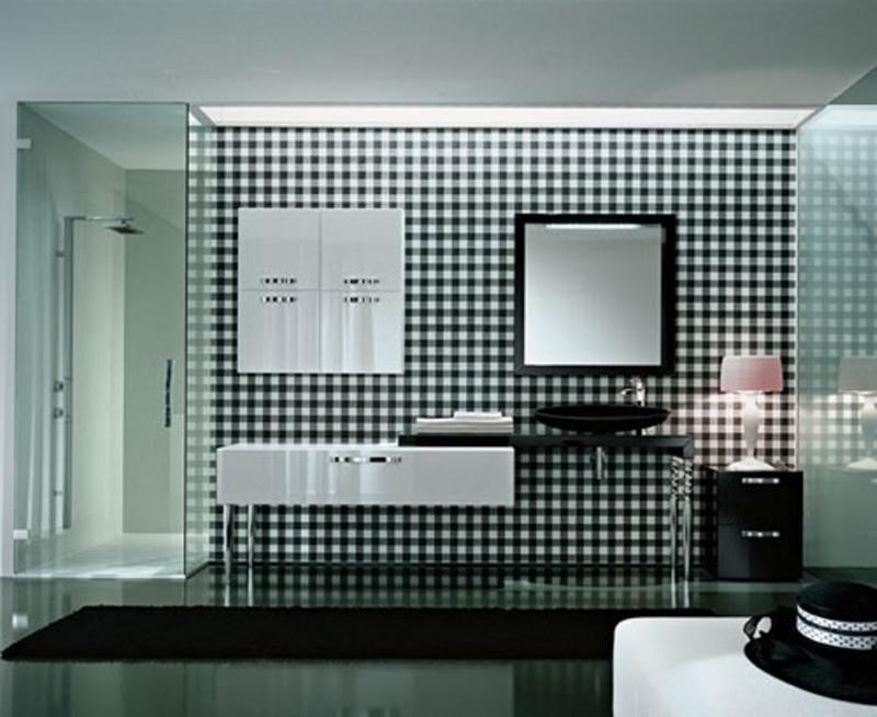 Vibrant Art Deco Bathroom Part 63