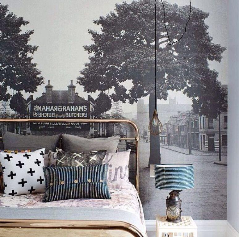 Bedroom Wall Murals In Aesthetic Bedroom Designs Rilane - Bedroom mural