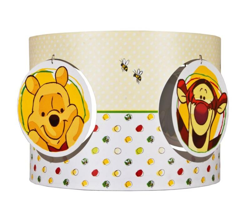 Winnie the pooh lamps in 10 fun designs rilane winnie and tigger pop up lamp shade design aloadofball Images