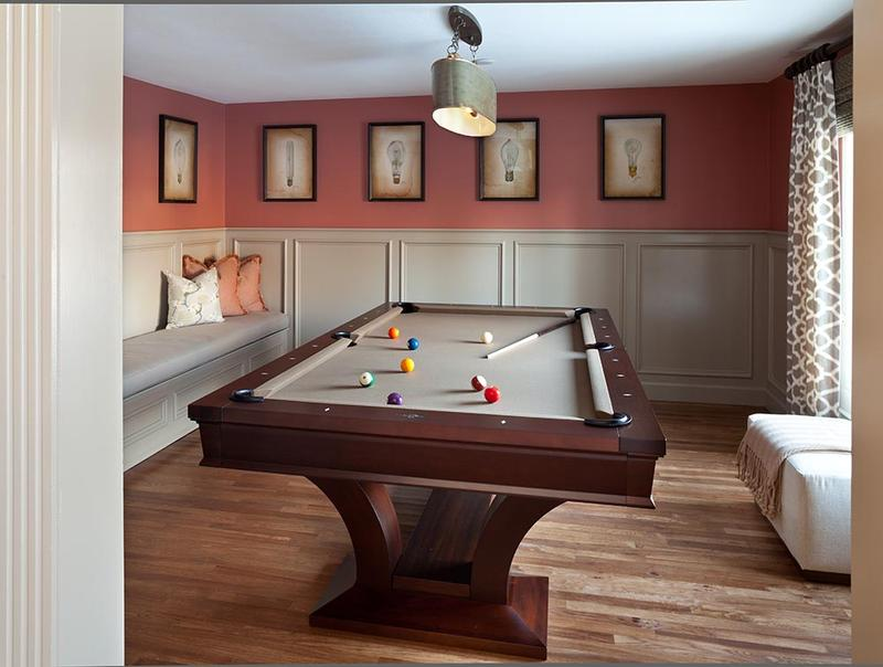 A Place Of Fun And A Billiard Table