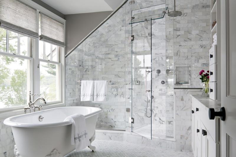 Bathroom With Freestanding Bath
