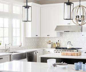 White Modern Kitchen Home